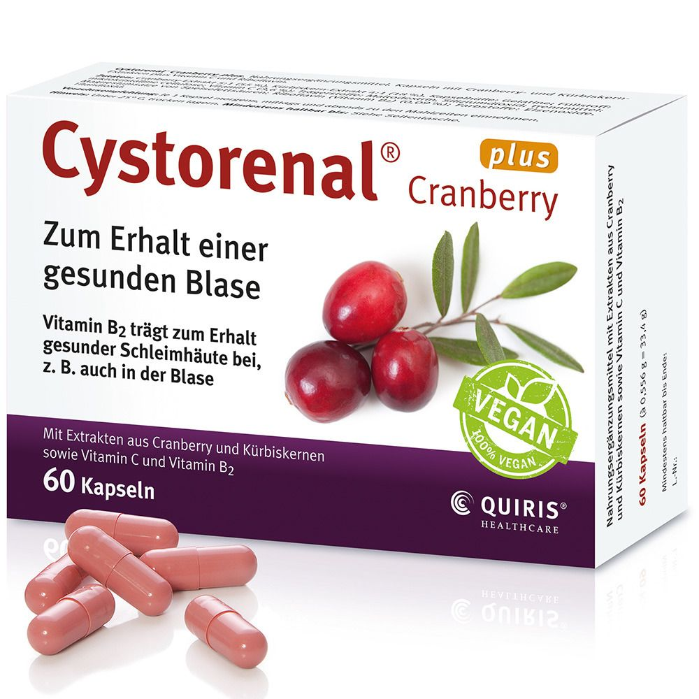 Image of Cystorenal® Cranberry plus