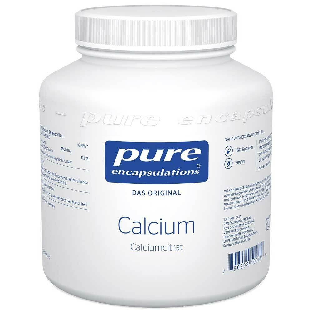 Image of pure encapsulations® Calcium (Calciumcitrat)