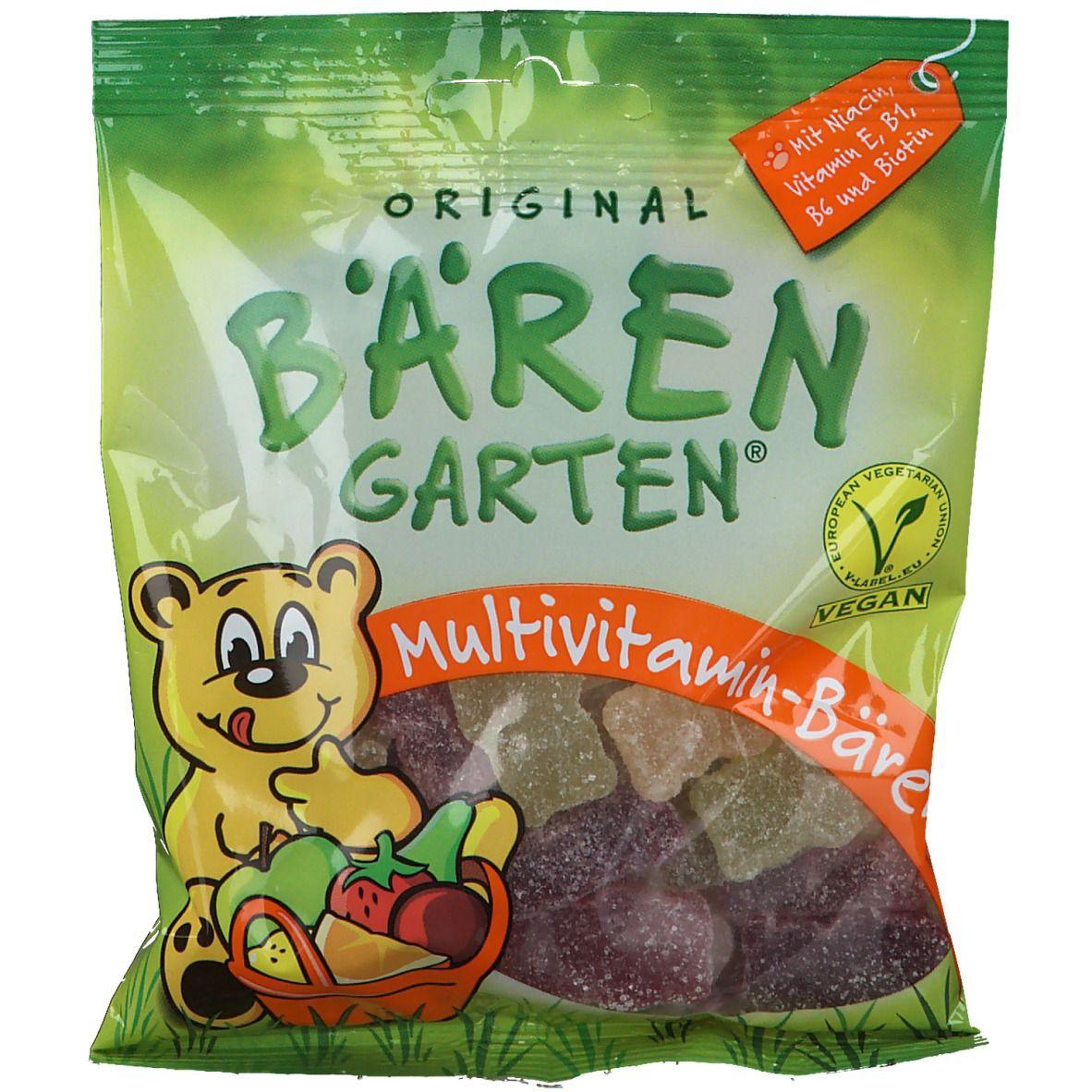 Image of Original Bärengarten® vegane Multivitamin-Bären