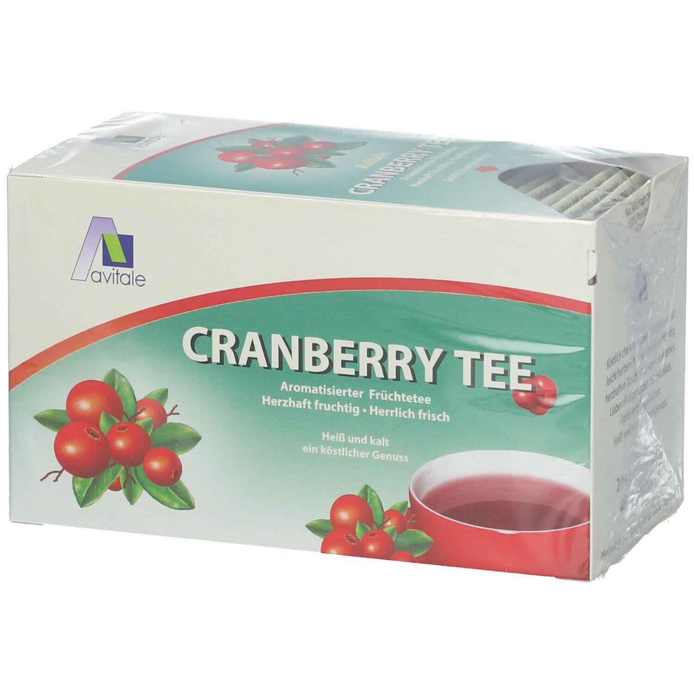 Image of Avitale Cranberry Tee Filterbeutel