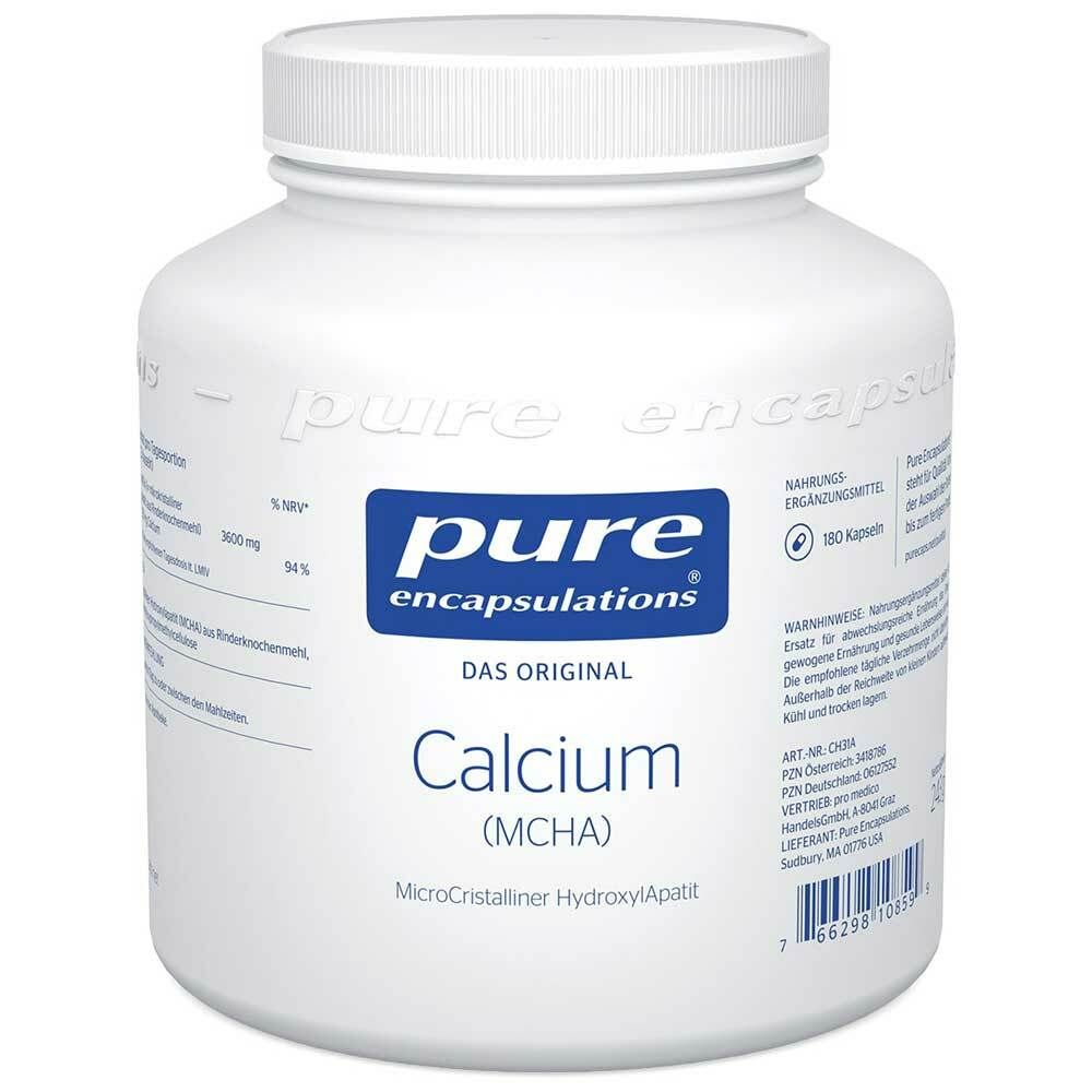Image of pure encapsulations® Calcium (MCHA)