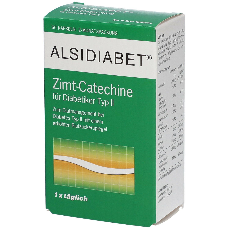 Image of ALSIDIABET® Zimt Catechine für Diabetiker Typ II