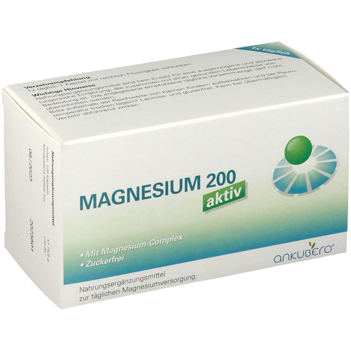 Image of Magnesium 200 aktiv