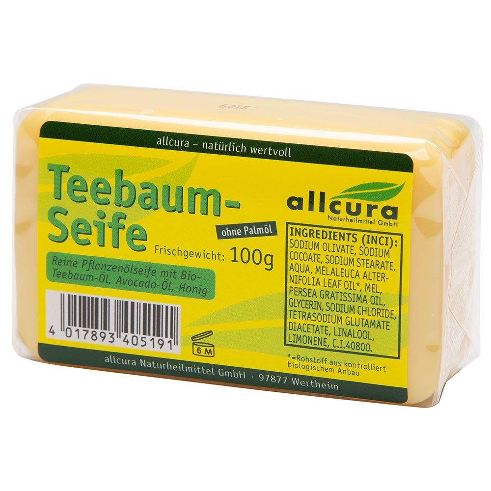 Image of allcura Teebaum Seife