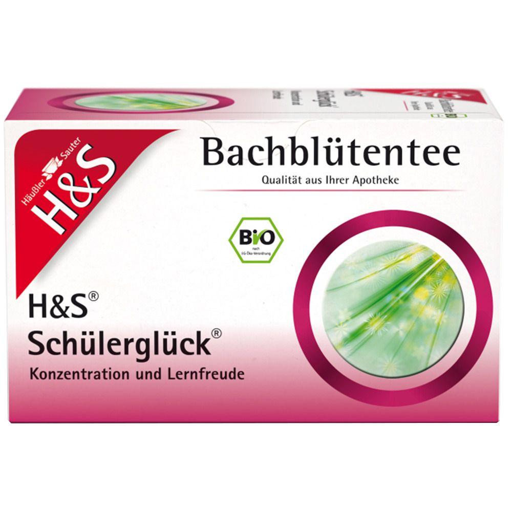 Image of H&S Bio Bachblütentee Schülerglück Nr. 82