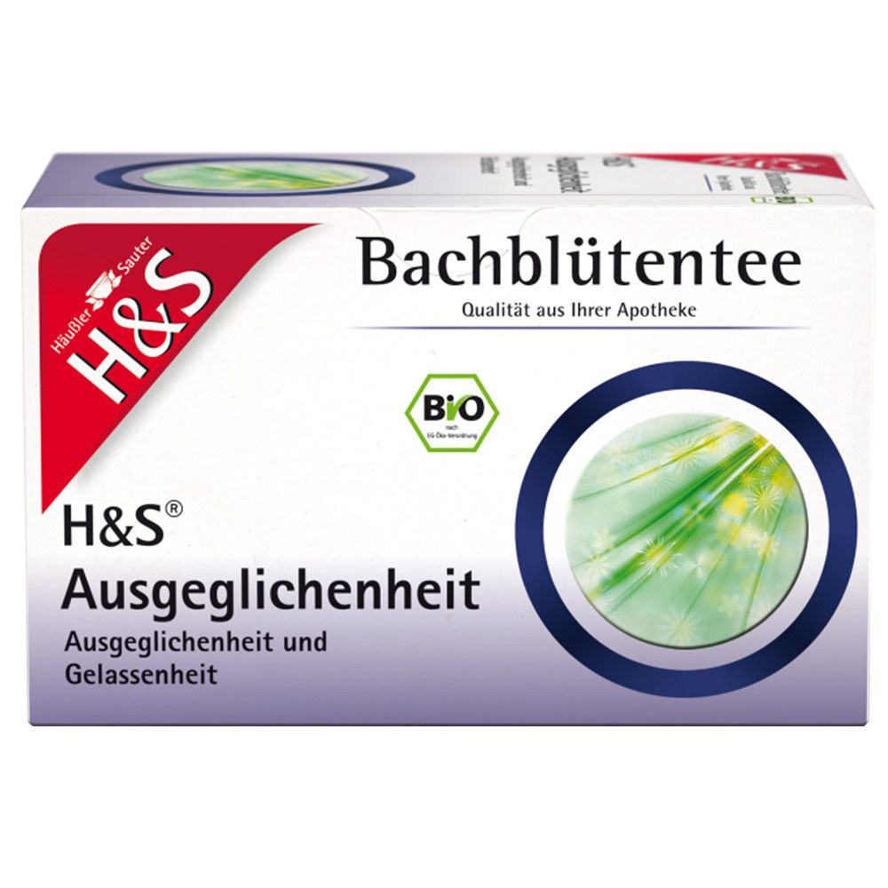 Image of H&S Bio-Bachblütentee Ausgeglichenheit Nr. 81