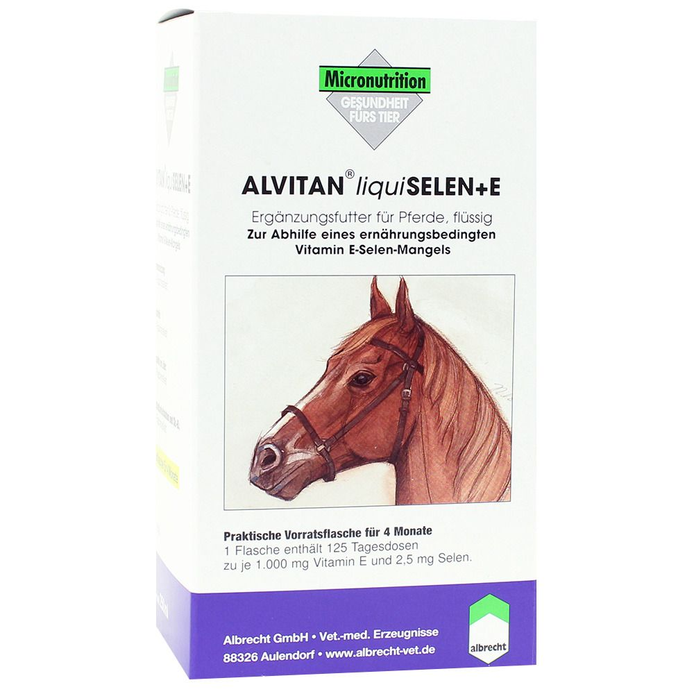 Image of Alvitan® liquiSelen + E