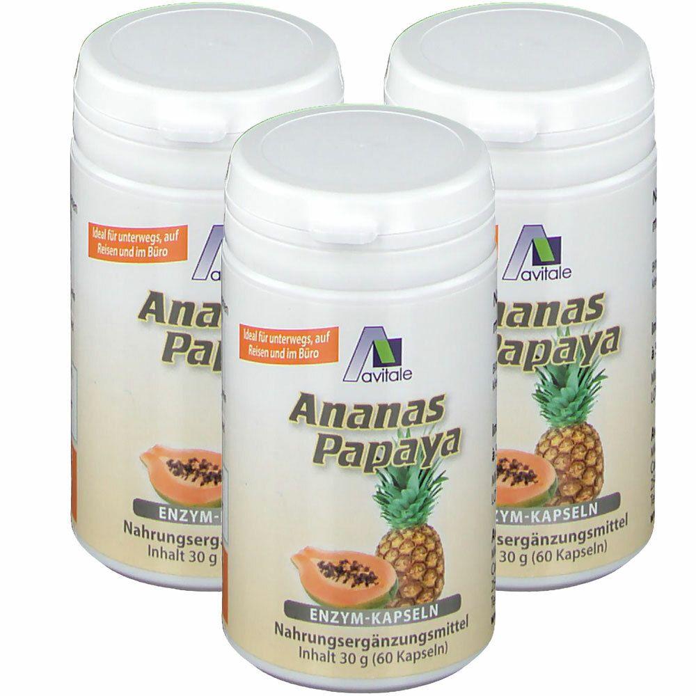 Image of Avitale Ananas-Papaya Enzym