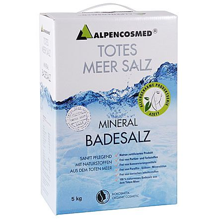 Image of ALPENCOSMED® Natur Totes Meer Badesalz