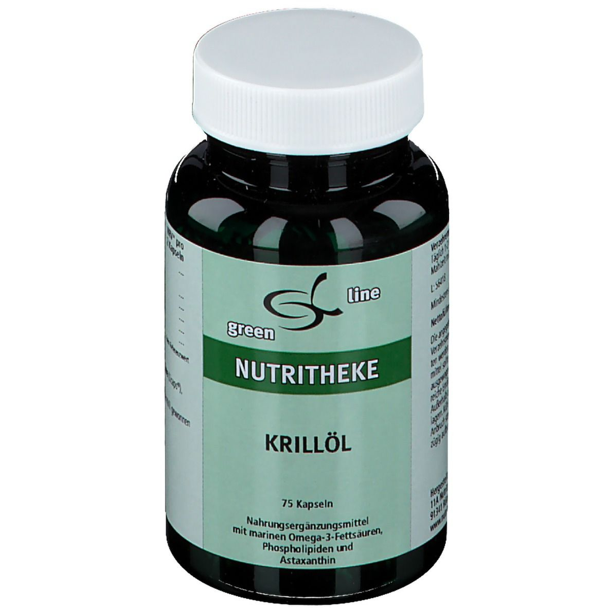 Image of green line Krill-Öl