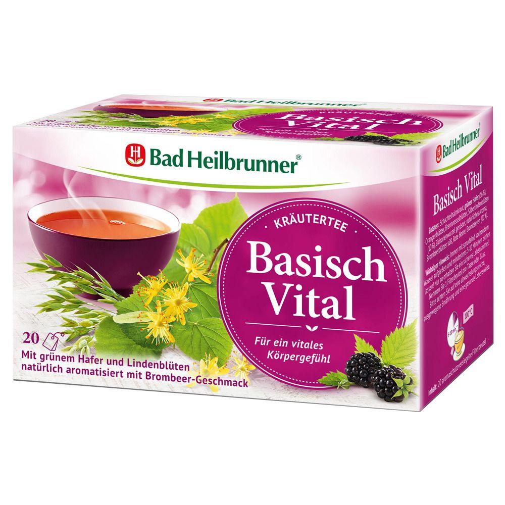 Image of Bad Heilbrunner® Basisch Vital Kräutertee