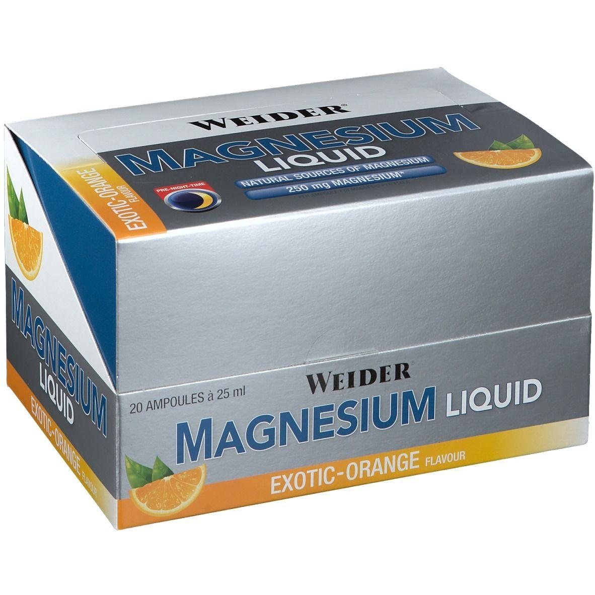 Image of AmosVital® Magnesium Liquid 250 mg Exotic-Orange