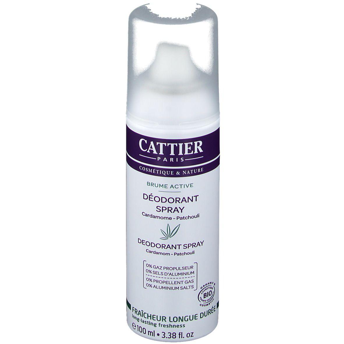 Image of CATTIER Deodorant Brume Active - Kardamom & Patchouli