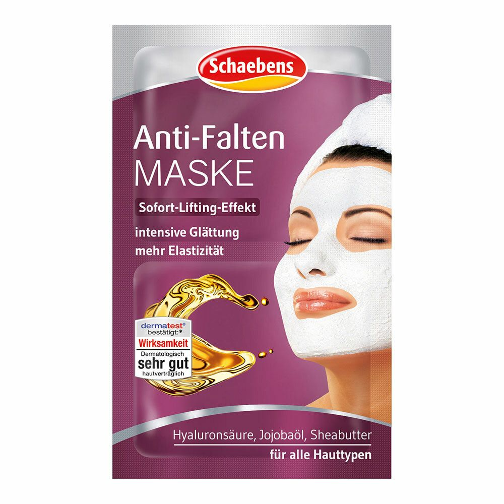 Image of Schaebens Anti-Falten Maske