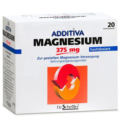 Image of ADDITIVA® Magnesium 375 mg Granulat Orange
