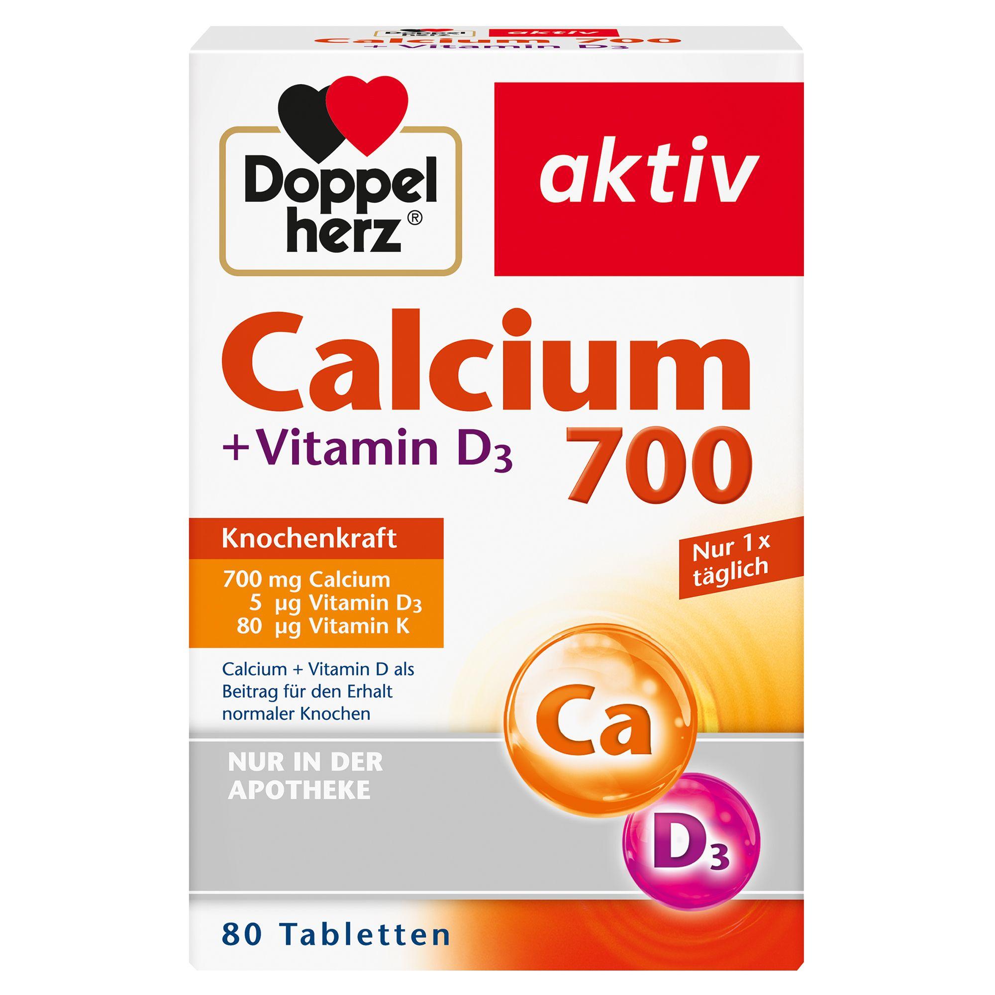 Image of Doppelherz Calcium 700 + D3