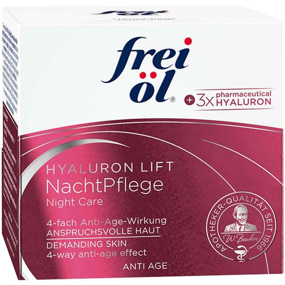 Image of frei öl® ANTI AGE HYALURON LIFT NachtPflege