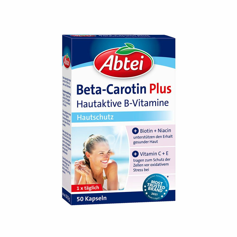 Image of Abtei Beta-Carotin Plus Hautaktive B-Vitamine