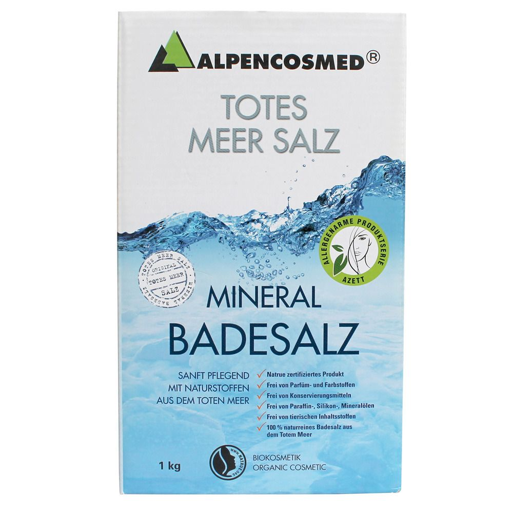 Image of ALPENCOSMED® Totes Meer Mineral Badesalz