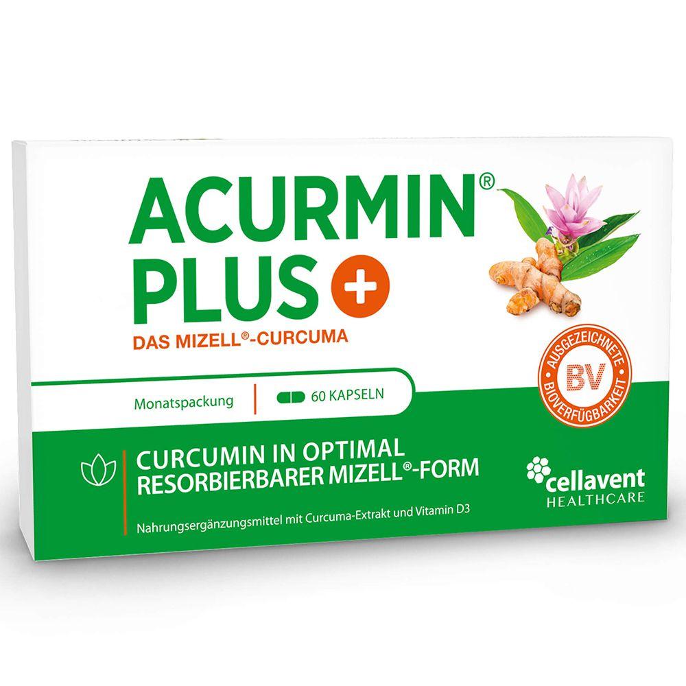 Image of ACURMIN PLUS®+ Das Mizell-Curcuma