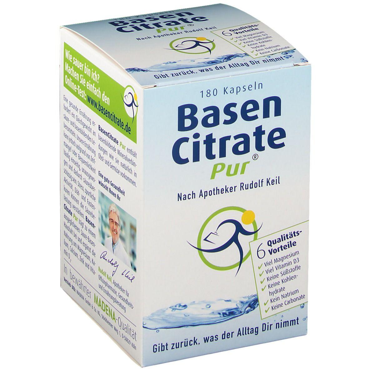 Image of Basen Citrate Pur® Nach Apotheker Rudolf Keil