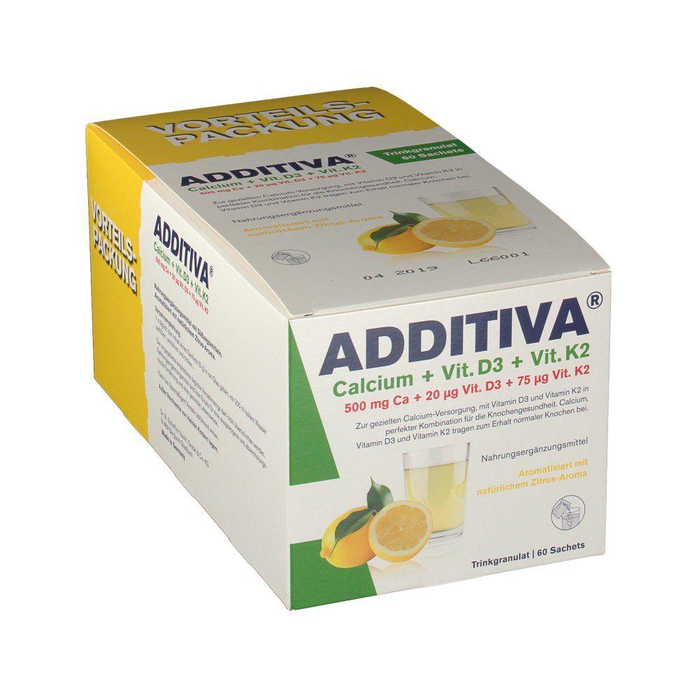 Image of ADDITIVA® Calcium + Vit. D3 + Vit. K2