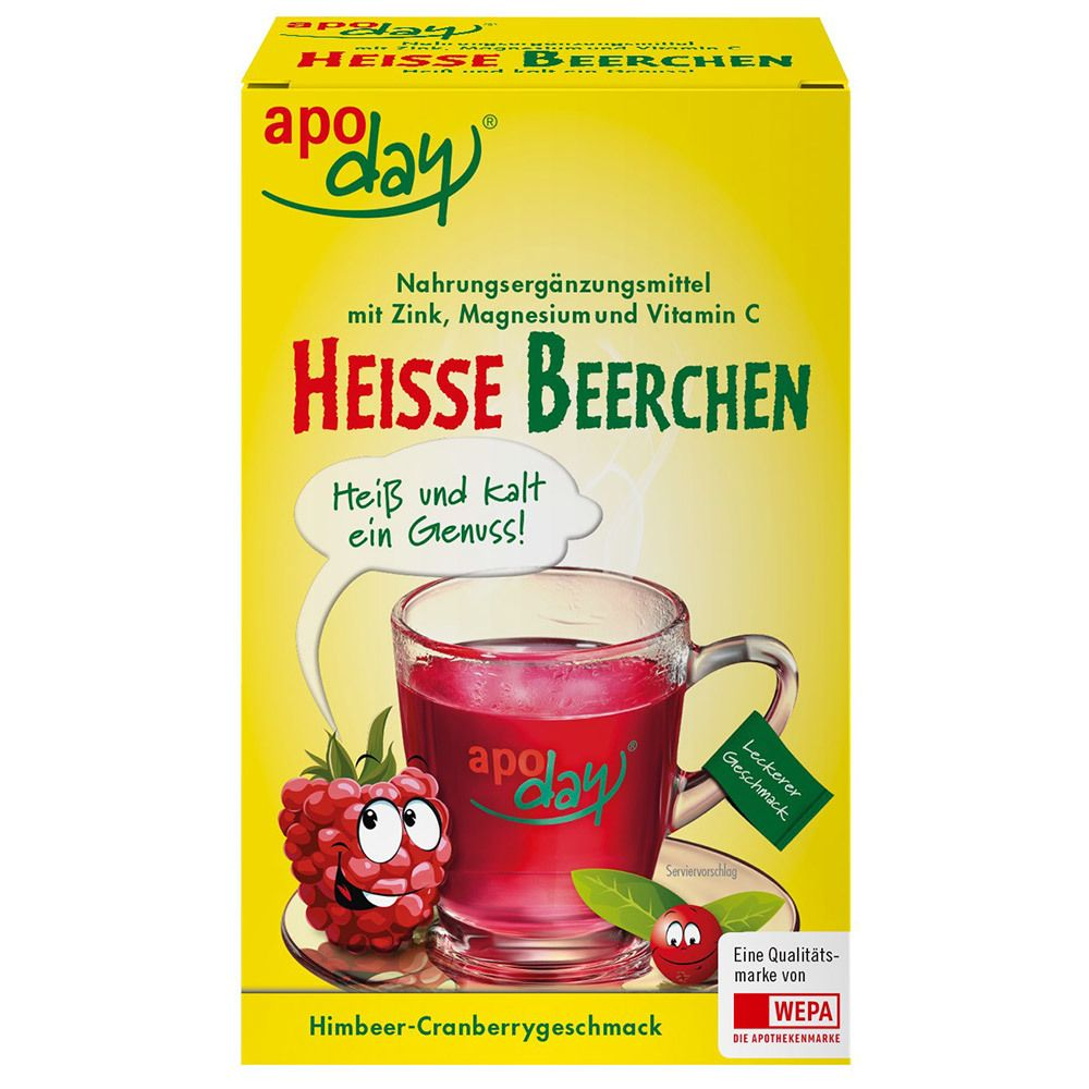 Image of apoday® Heisse Beerchen