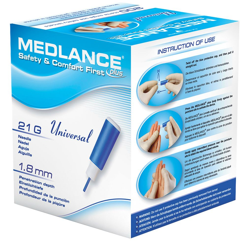 Image of MEDLANCE® plus Universal Lanzetten