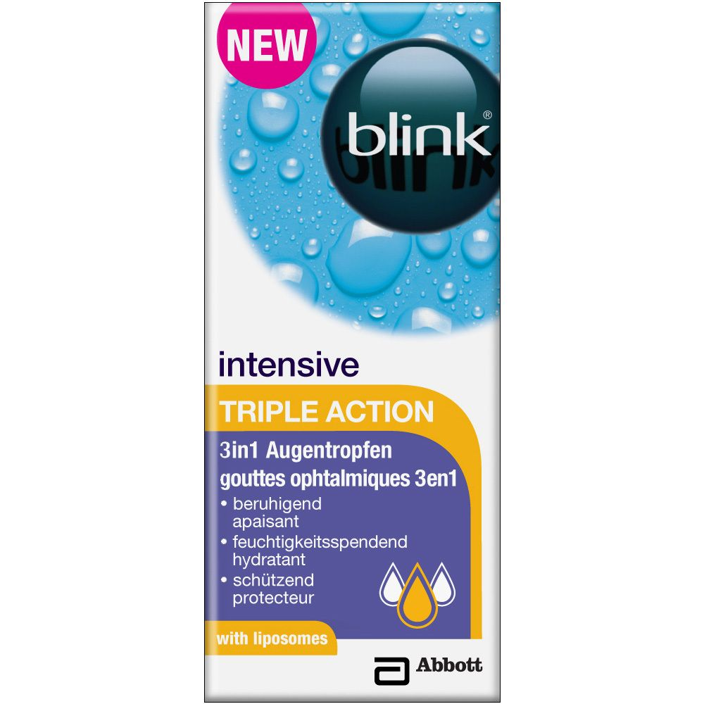 Image of blink® intensive TRIPLE ACTION