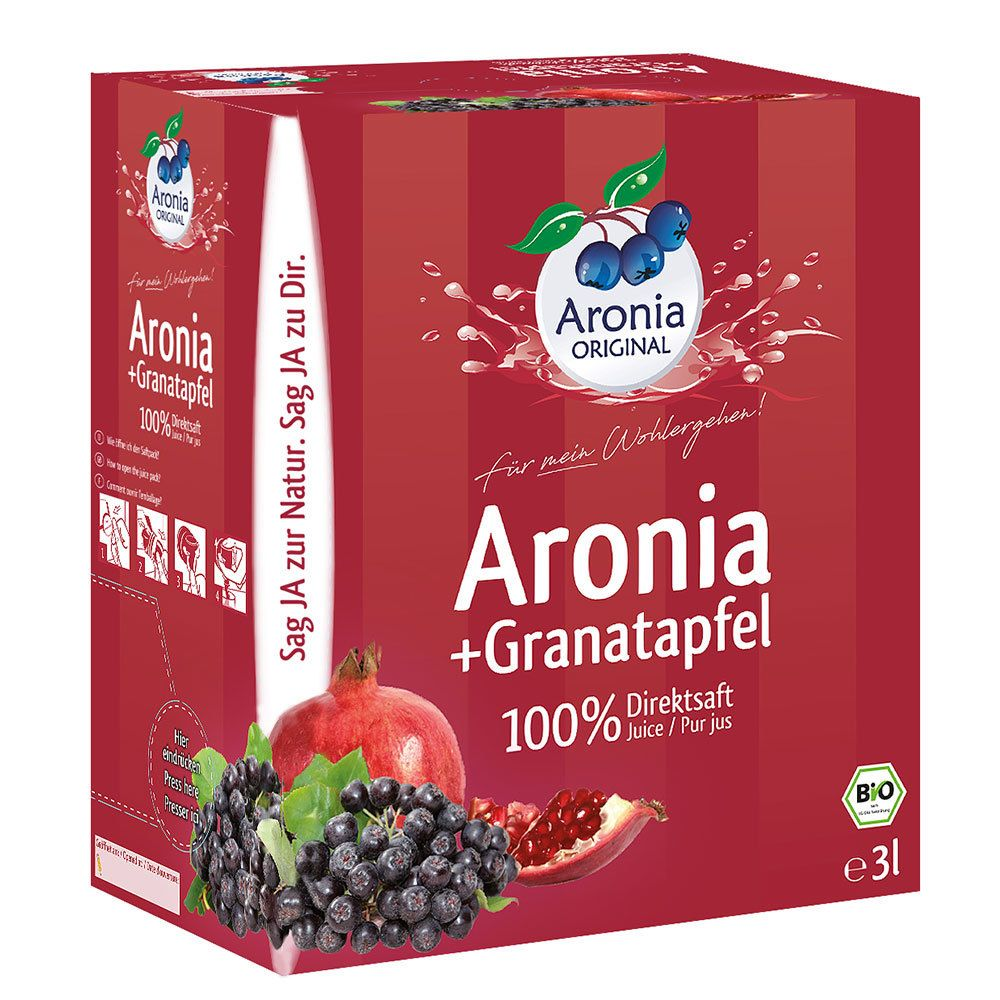 Image of Aronia ORIGINAL Bio Aronia + Granatapfel Direktsaft