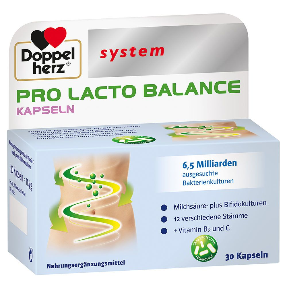 Image of Doppelherz® system Pro Lacto Balance System