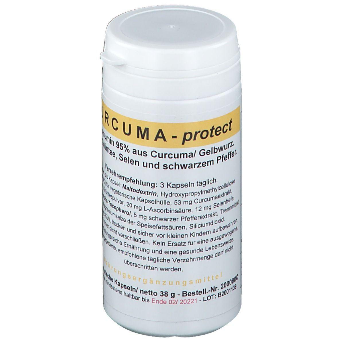 Image of ALLPHARM Curcuma Protect