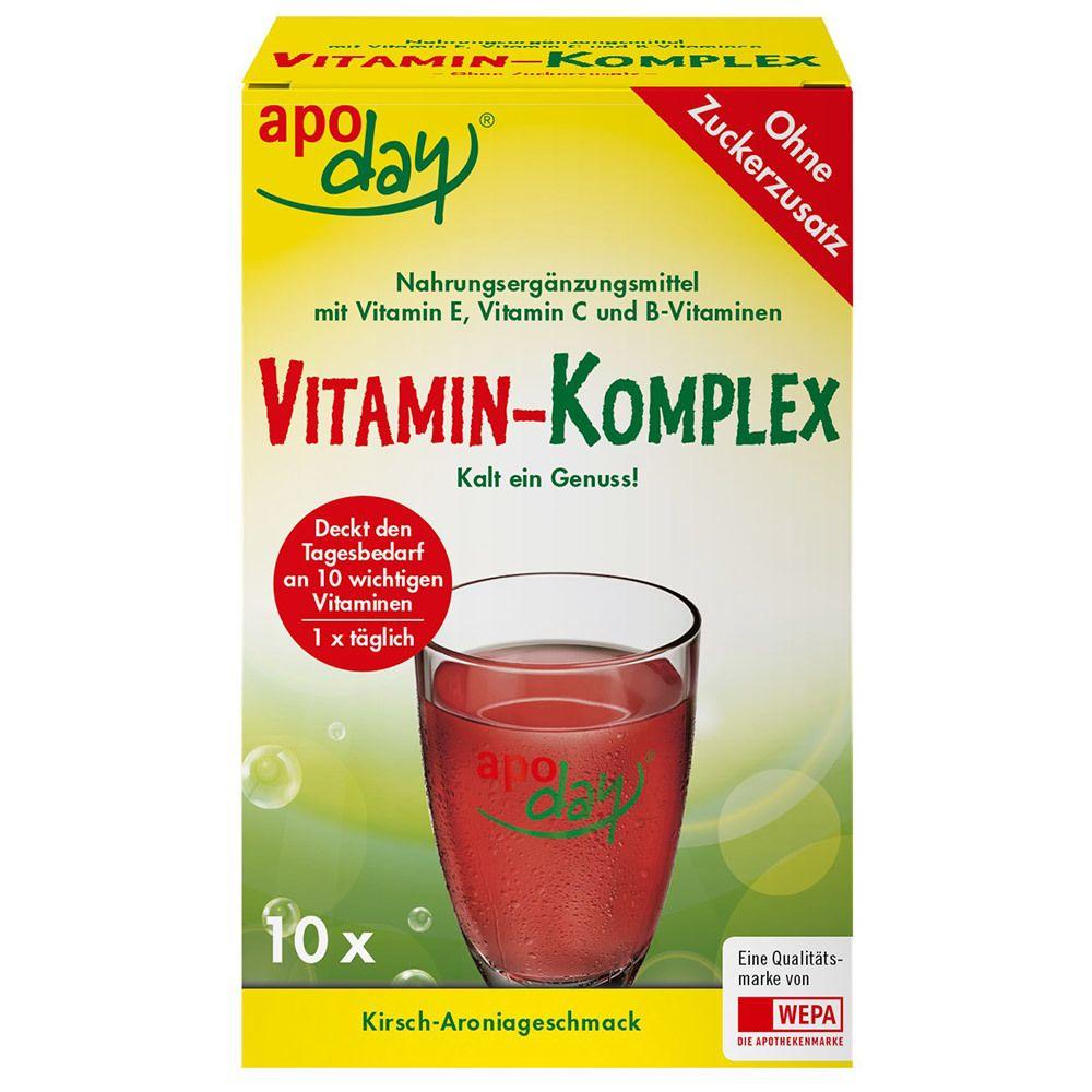 Image of apoday® Vitamin-Komplex Kirsch-Aronia