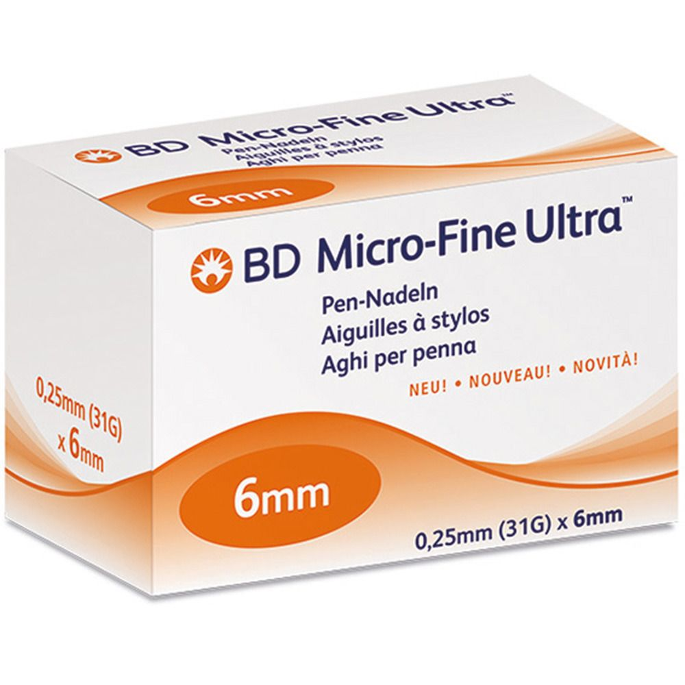 Image of BD Micro-Fine Ultra™ 6 mm 31 G
