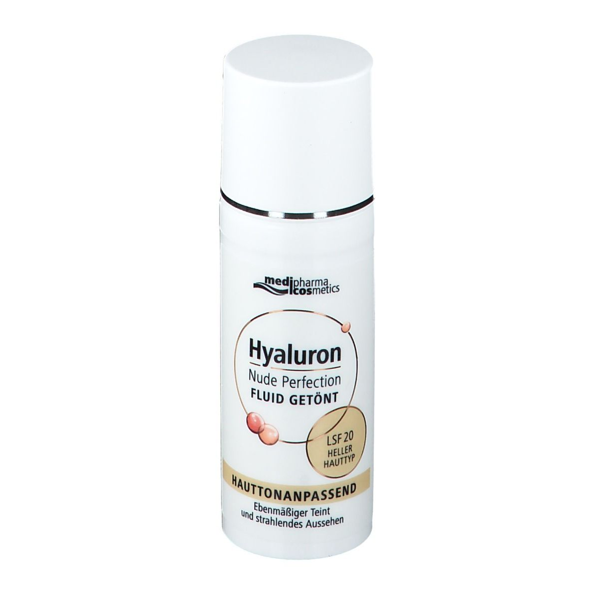 Medipharma Cosmetics HYALURON Nude Perfection getönt.Fluid