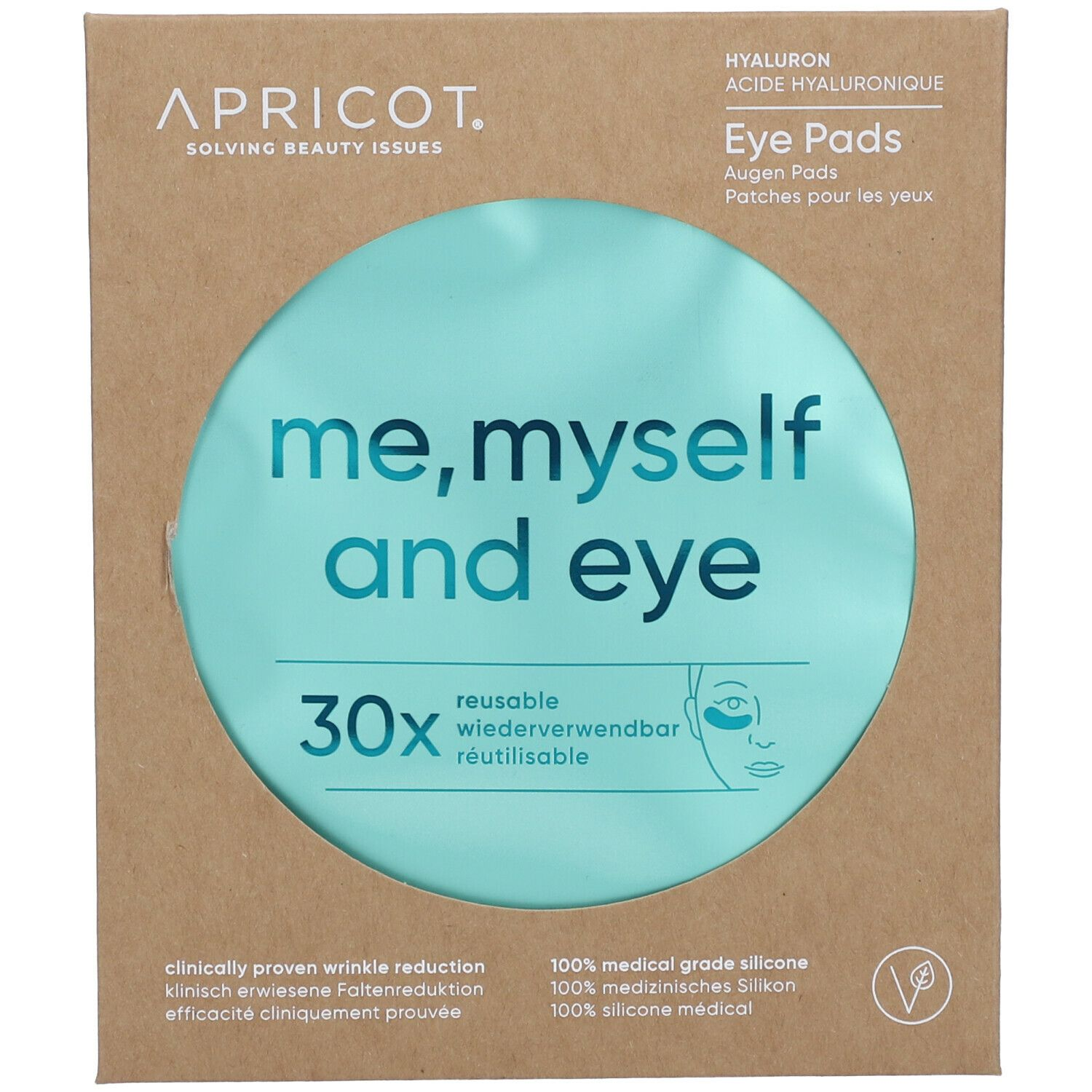 Image of APRICOT me, myself and eye Augen Pads mit Hyaluron