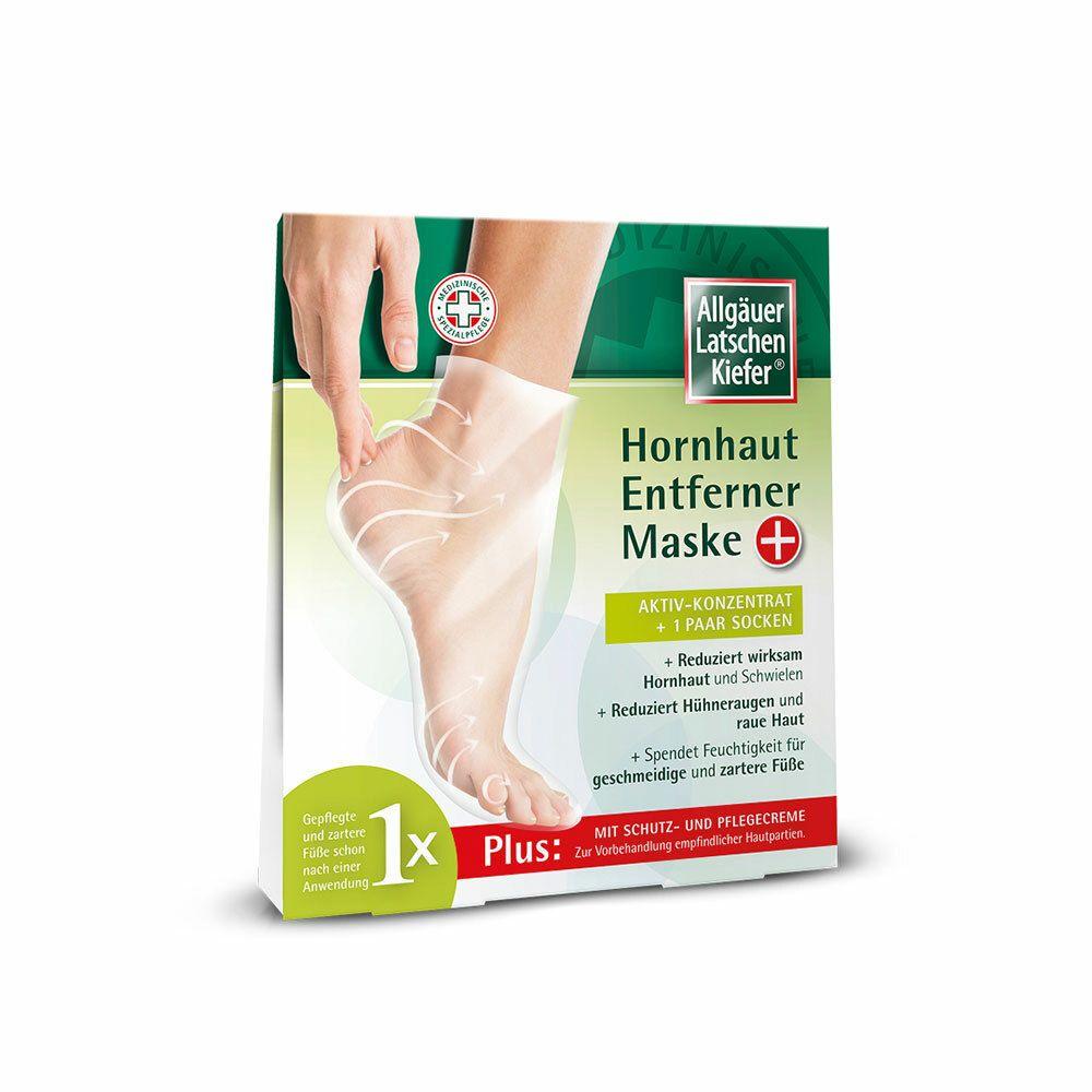 Image of Allgäuer Latschenkiefer Hornhaut Entferner Maske plus