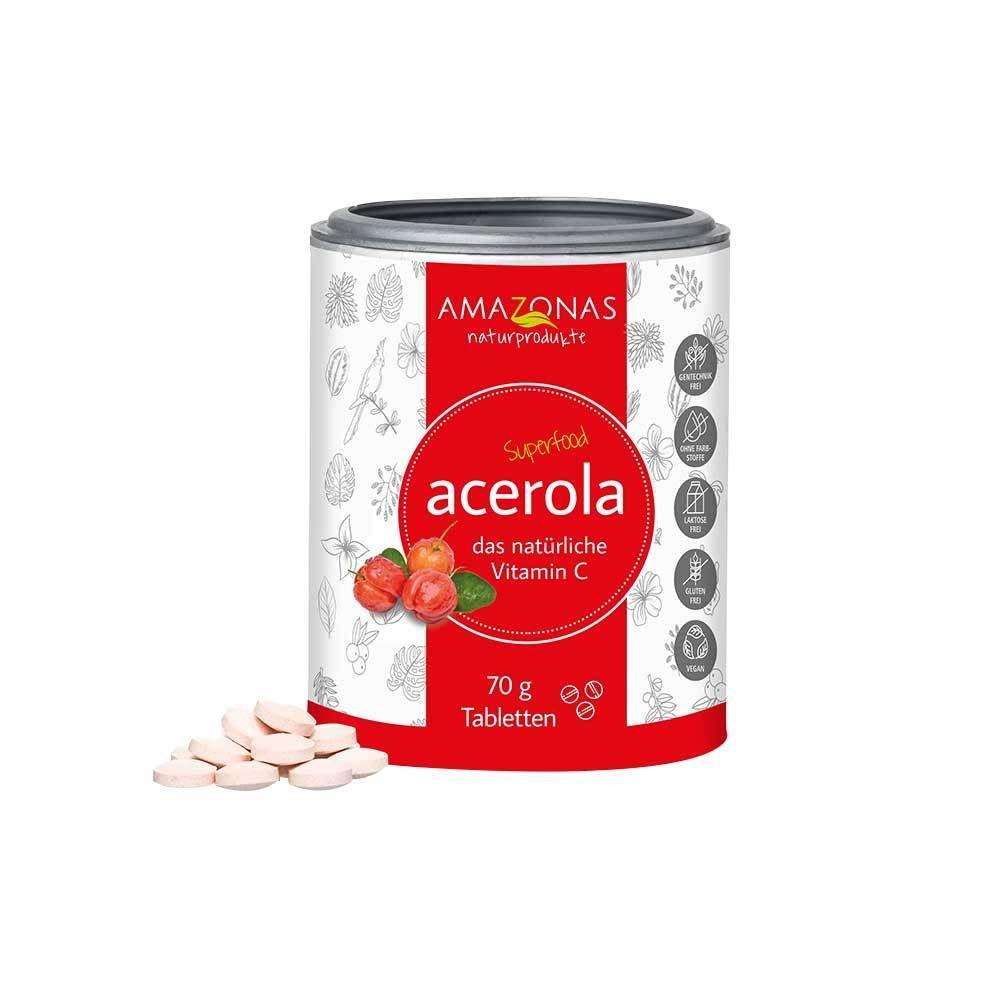 Image of ACEROLA Lutschtabletten ohne Zuckerzusatz