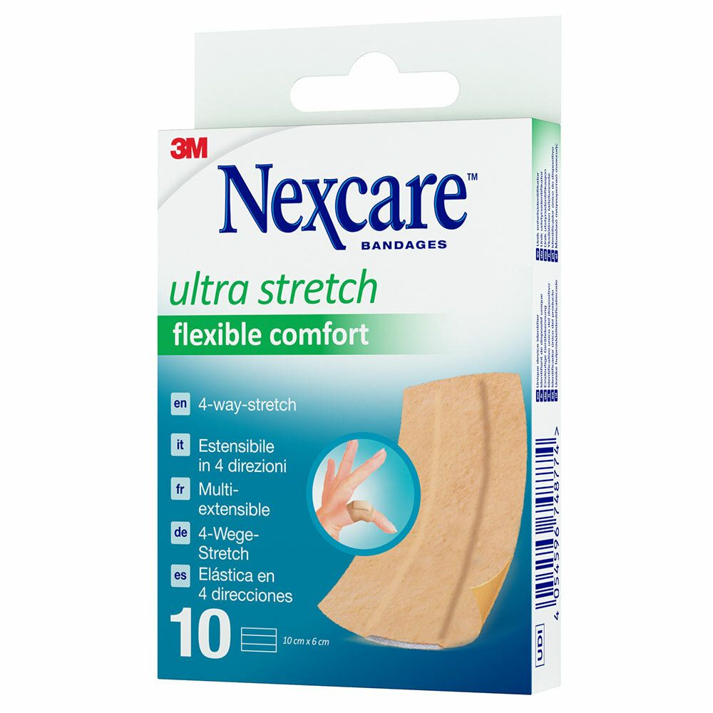 Image of Nexcare™ ultra stretch flexible comfort 6x10 cm