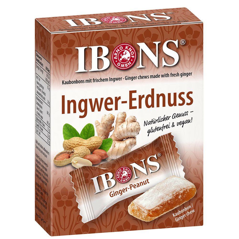 Image of IBONS® Ingwer-Erdnuss Bonbons
