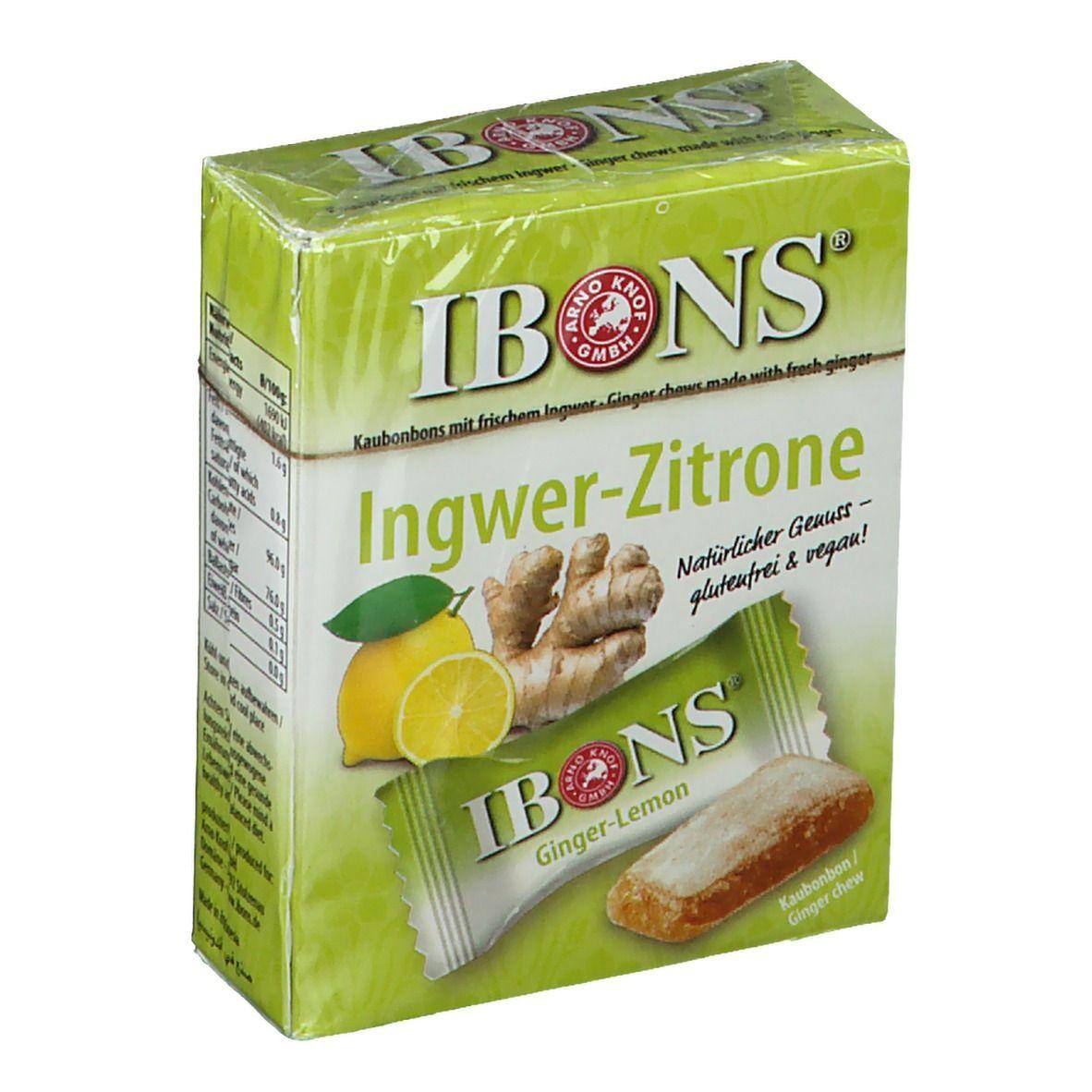 Image of IBONS® Ingwer-Zitrone Box