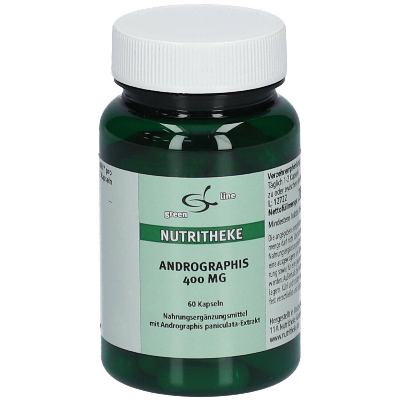 Image of green line ANDROGRAPHIS 400 mg