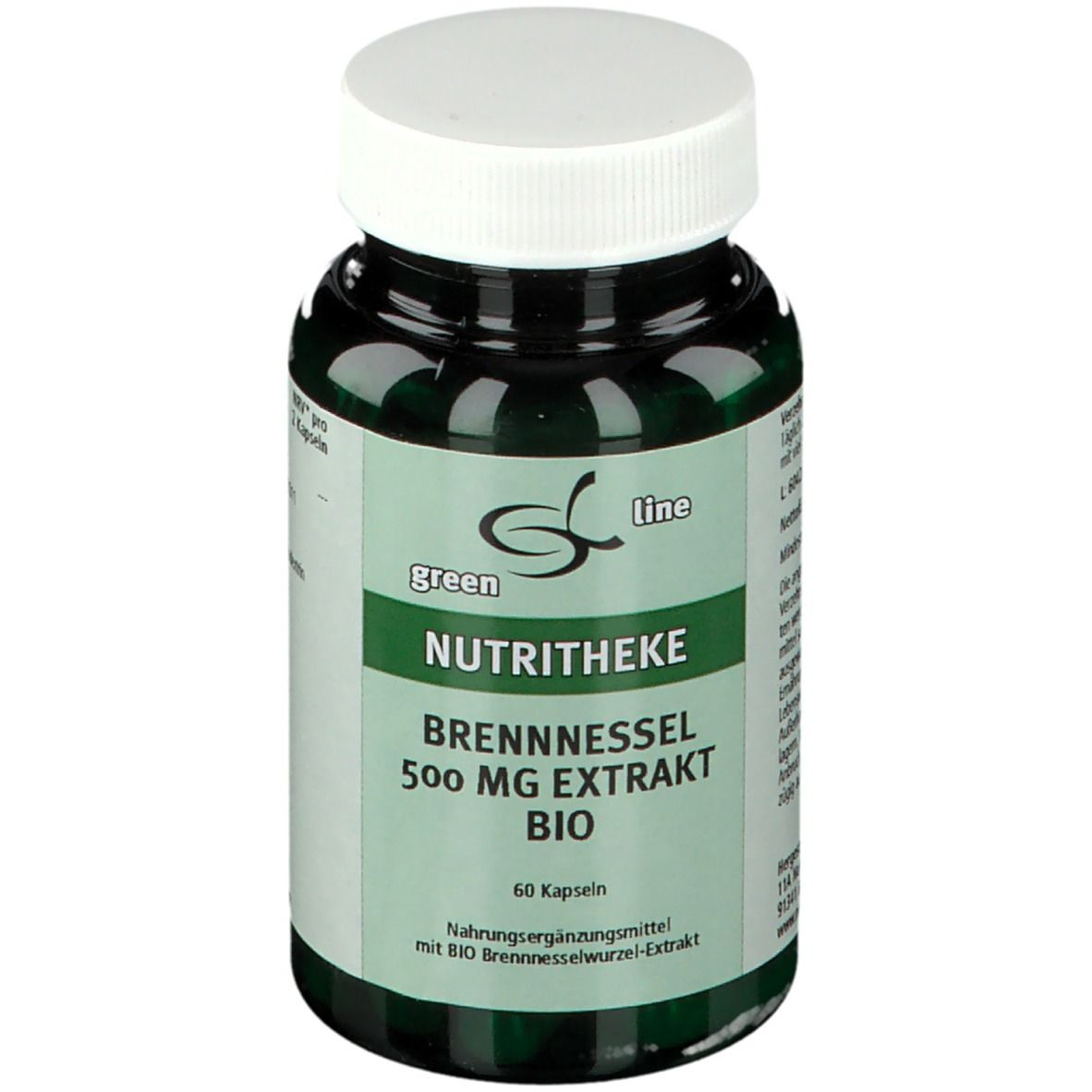 Image of green line BRENNESSEL 500 mg EXTRAKT BIO