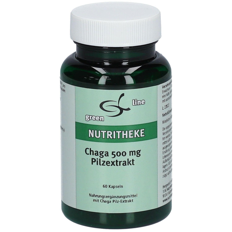 Image of green line Chaga 500 mg Pilzextrakt