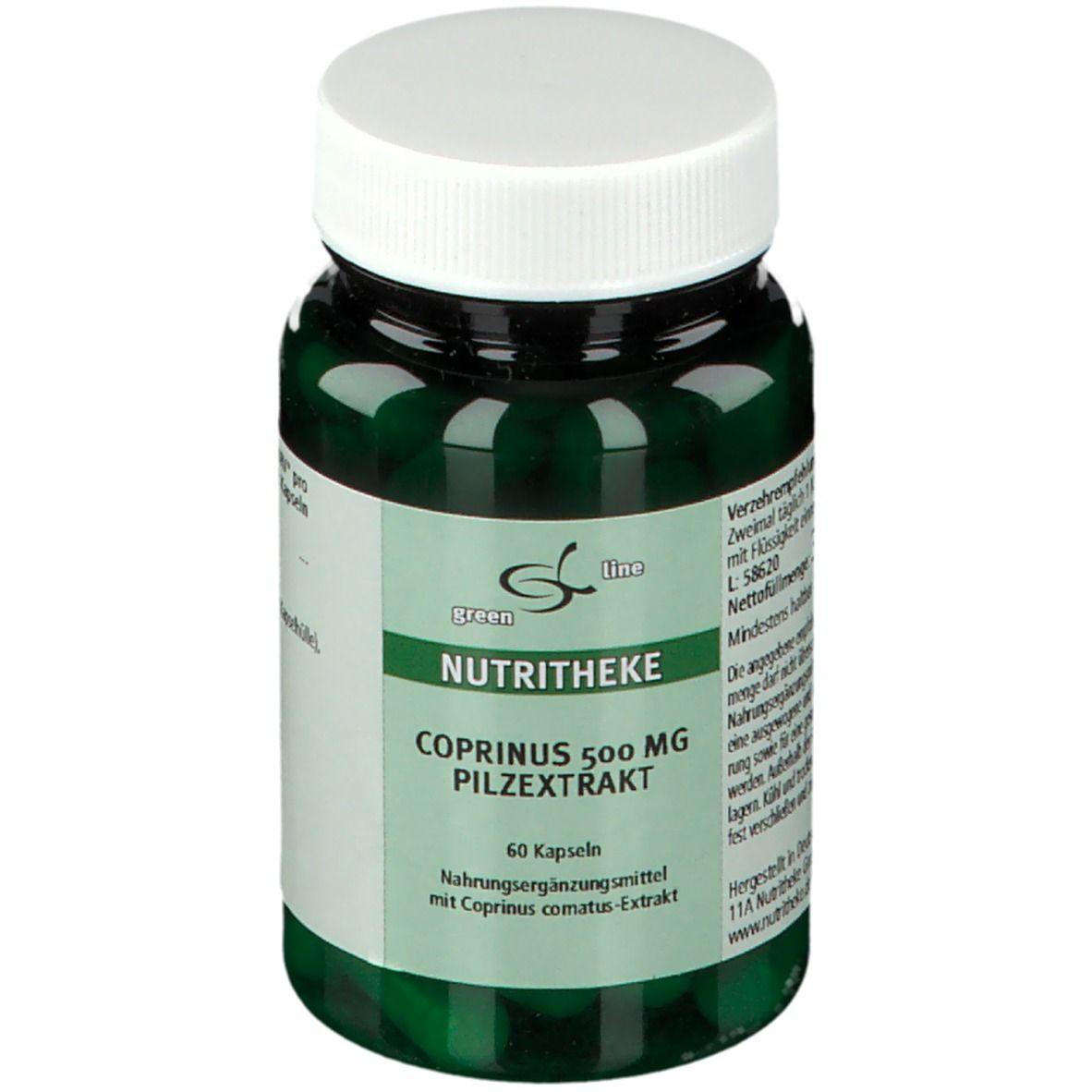 Image of green line COPRINIUS 500 mg PILZEXTRAKT