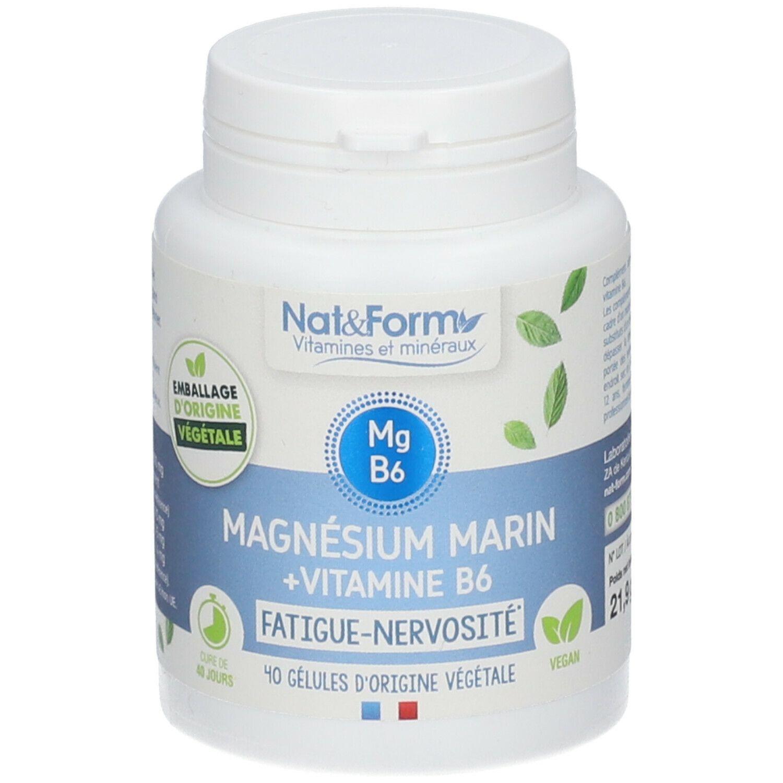 Image of Nat & Form Magnesium Vitamin B6