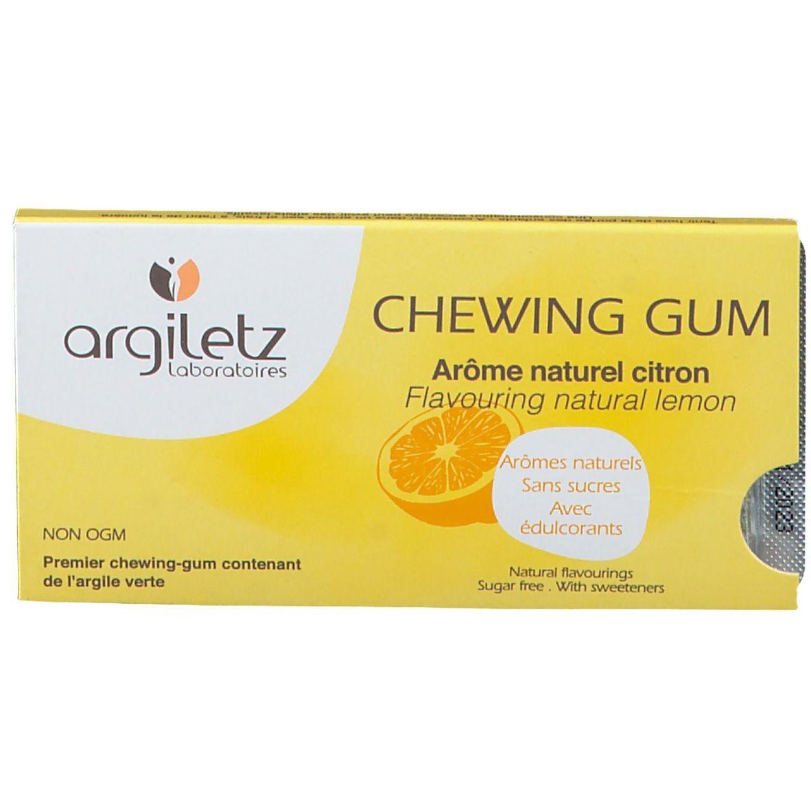 Image of agiletz Lemon Kaugummi ohne Zucker
