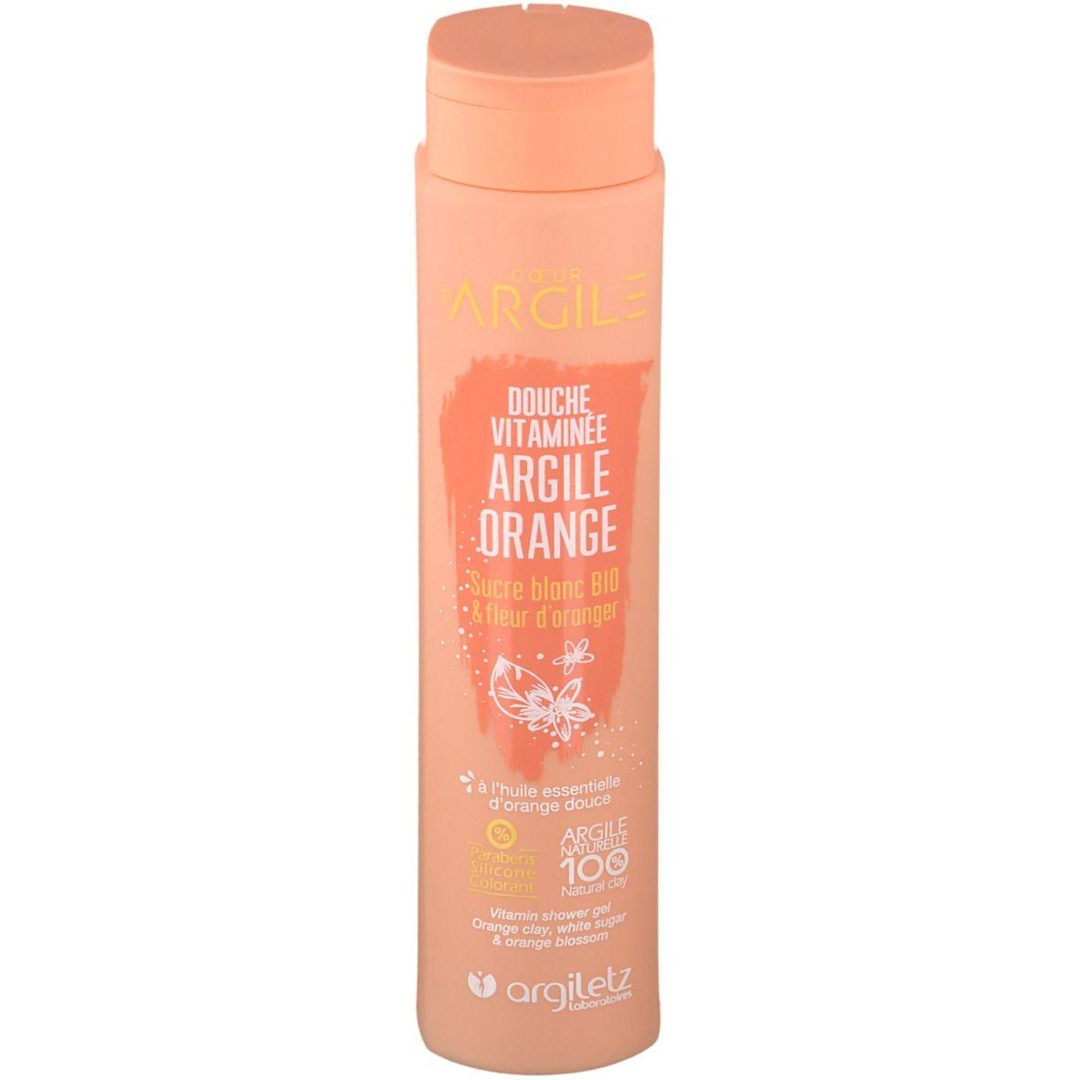 Image of Argiletz Coeur d'Argile Duschgel Orange Tonerde
