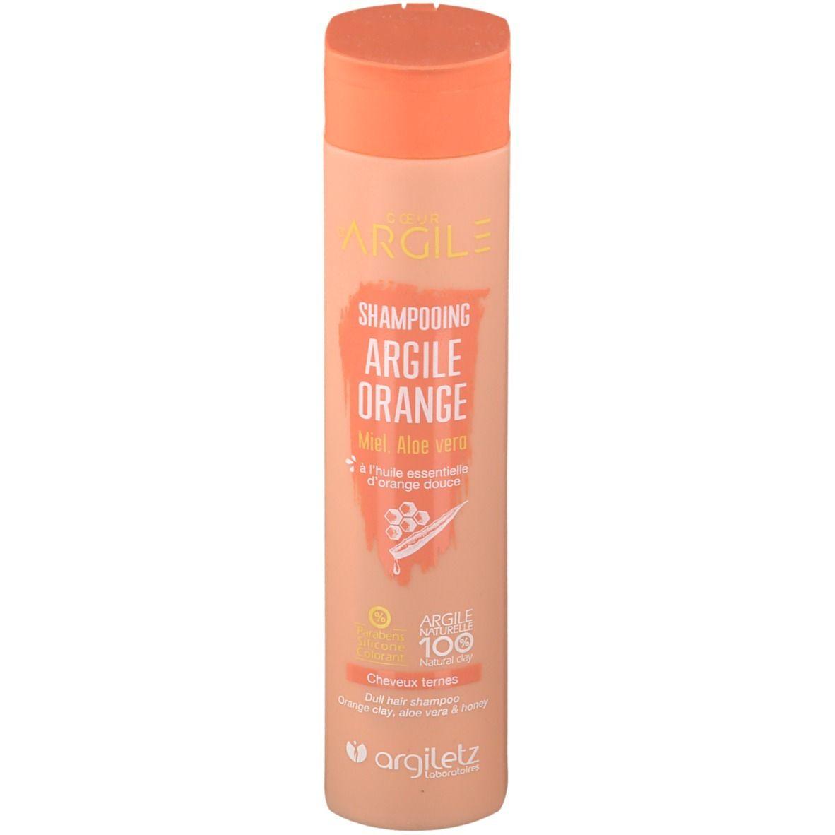 Image of Argiletz Coeur d'Argile Shampoo Orange