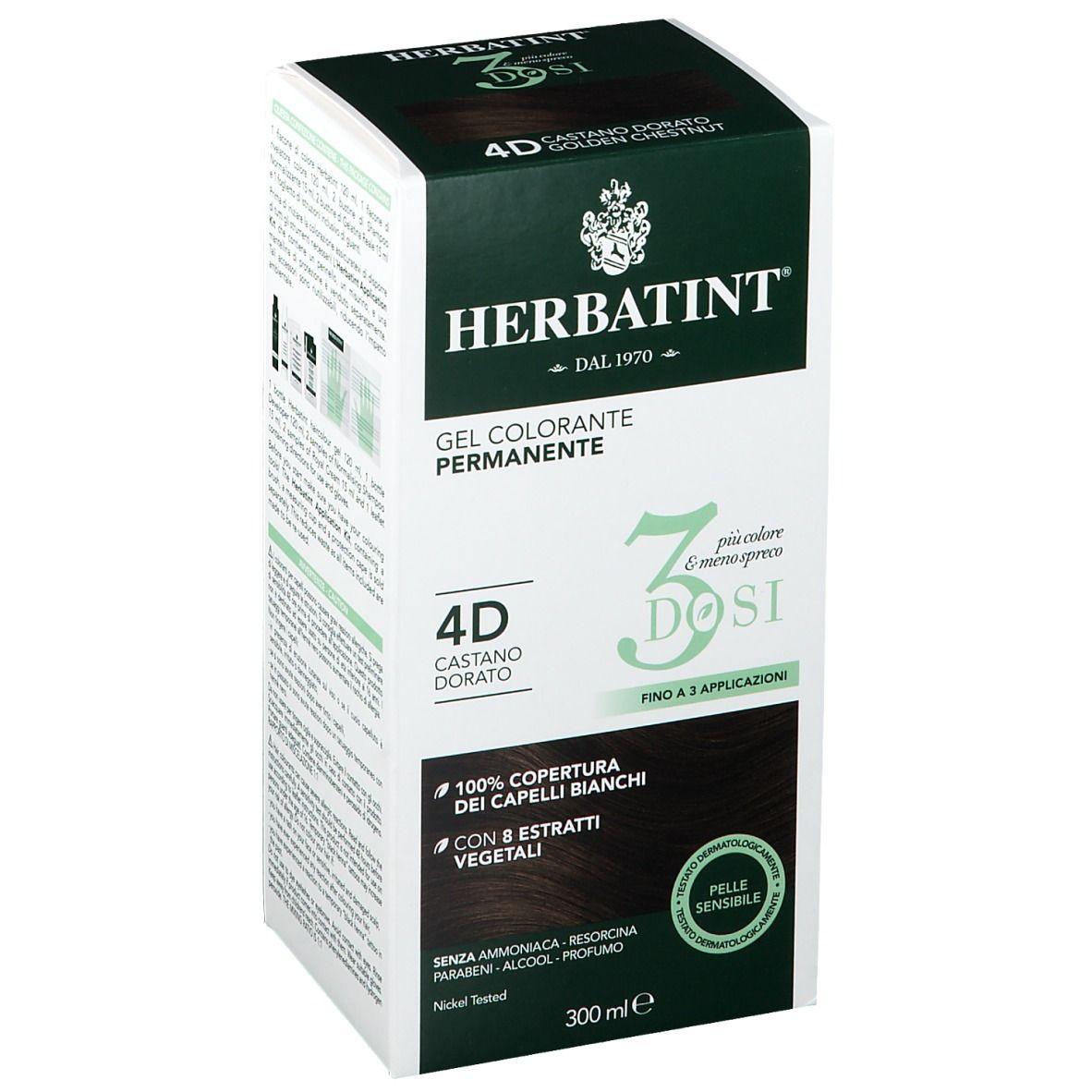 Image of HERBATINT® 3 DOSI 4D Goldbraun